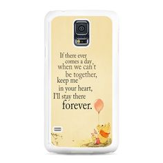 Winnie The Pooh Quotes Samsung Galaxy S5 Case