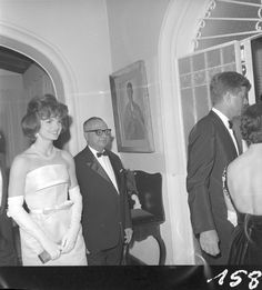 Jackie Kennedy con el presidente Rómulo Betancourt, Caracas 1961.Visita a Venezuela del entonces presidente norteamericano JFK los días 16 y 17 de diciembre de 1961