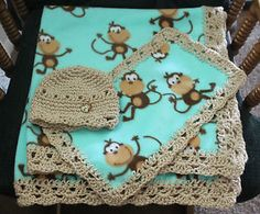 Monkey Baby Blanket Knitting Pattern : Machine Embroidery on Pinterest Machine Embroidery ...
