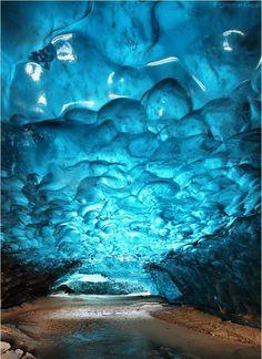 Crystal Cave, Svínafellsjökull, Skaftafell, Iceland