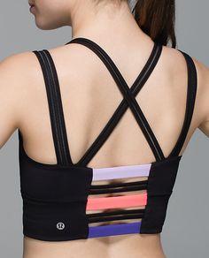 Happy Strappy Long Line Bra SHOP @ FitnessApparelExpress.com