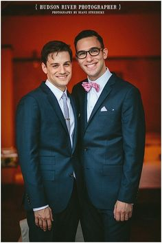 Gay Wedding in Rhinebeck, New York | { Hudson River Photographer}