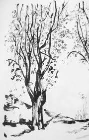 Resultado de imagen para pinterest cuadros de acuarela con arboles otoño