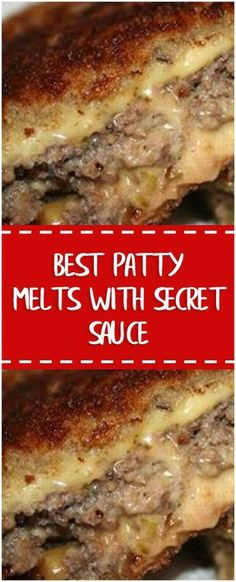Best Patty Melts With Secret Sauce §§§ #whole30 #foodlover #homecooking #cooking #cookingtips