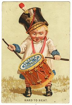 Clarks Thread Victorian Trade Card