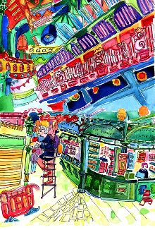 Colourful Kirkgate, Leeds - Martha Rushworth