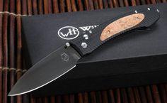 William Henry EDC E10-2 Box Elder Burl Folding Knife - William Henry Knives