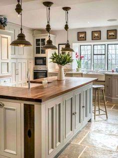 Kitchen Cabinet Design - CLICK THE IMAGE for Many Kitchen Ideas. #cabinets #kitchenisland