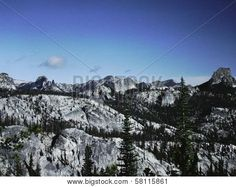 The Idaho Batholith is a granite outcropping covering over 15,000 square miles and stretching 200 miles long and 75 miles wide in eastern Idaho. A portion of the batholith is shown in this photograph taken near the Central Idaho Big Horn Crags. ©Photo copyright by Marty Nelson. Photographer website: http://www.bigstockphoto.com/search/?start=300&contributor=Marty+Nelson+Photo+Art&safesearch=n
