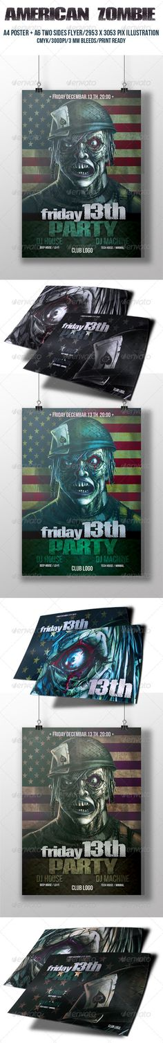 Bloody Halloween Flyer Template | Bloody Halloween, Flyer Template
