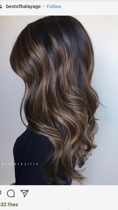 Black Coffee Hair With Ombre Highlights - 10 Cool Ideas of Coffee Brown Hair Color - The Trending Hairstyle Blonde Streaks, Brown Hair With Blonde Highlights, Brown Hair Balayage, Hair Color Highlights, Hair Color Dark, Ombre Hair Color, New Hair Colors, Hair Color Balayage, Haircolor