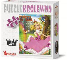 PUZZLE EDUKACYJNE 48 EL. KRÓLEWNA - puzzle do 104 elementów - Puzzle - Zabawki dla dzieci
