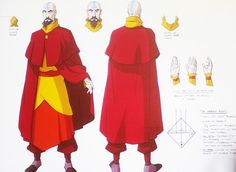 Tenzin reference for costume