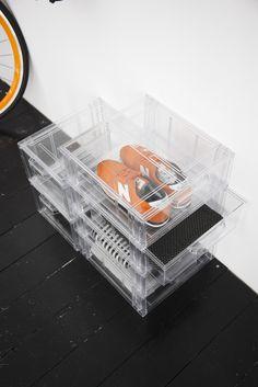 Organized shoes Shoe Organizer, Organization, Storage, Interior, Shoes, Products, Getting Organized, Organisation, Zapatos