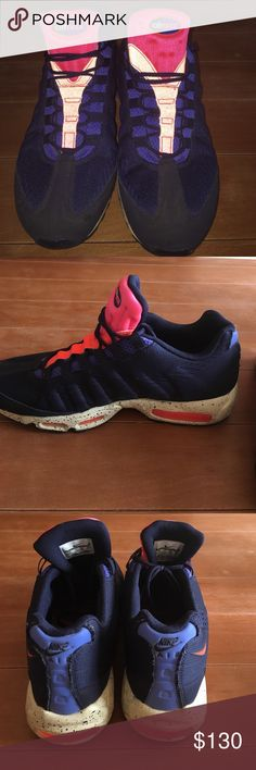 Nike Air Max 95 beaches of rio Men's size 12 worn very few times almost brand new rare shoe. Very cool color way. Open to offers/ trades. Nike Shoes Sneakers