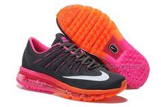 http://www.jordan2u.com/womens-nike-air-max-2016-running-shoes-blackpinkorange.html WOMENS NIKE AIR MAX 2016 RUNNING SHOES BLACK/PINK-ORANGE Only 73.09€ , Free Shipping!