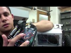 Awesome wireless glove controller by Andres Guzman-Ballen, computer engineering grad student