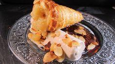 Cônes feuilletés aux #poires et glace #vanille by #Cuisine en Bouche Testé et validé!!