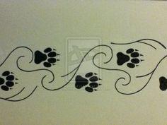 Google Image Result for http://fc00.deviantart.net/fs71/i/2011/349/d/4/tattoo__wolf_paw_prints_by_lostcrazychick-d4j5lah.jpg