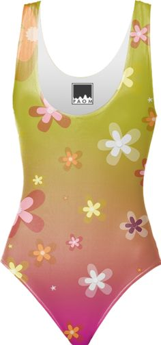 0000000P/Flowers in Spring One Piece Swimsuit