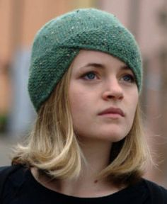 Knitting Pattern Ravine Cloche