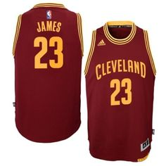 6b2449bfb Youth Cleveland Cavaliers LEBRON James Burgundy Swingman Basketball Jersey  Lebron James Cleveland
