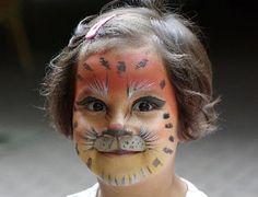 Schminken en Grimeren voorbeelden om kinderen te schminken