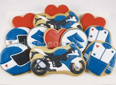 Motorcycle Cookie collection by A Dozen Eggs1, via Flickr