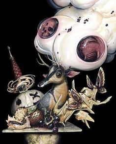 Gothic Nightmare Illustrations - Greg Simkins Macabre Paintings Leave You Wanting More (GALLERY)