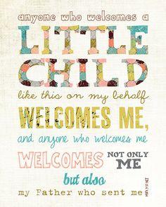 Baby gift baby shower present adoption gift scripture art bible