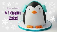 Learn how to make this adorable Penguin Cake! He's super easy to make and you can impress your friends/family with a super cute 3D cake! This video is part o...