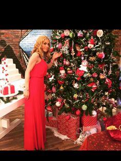Doretta enjoyed some red, hot #XMAS this year! #BSB_dresses #RED #dresses #RED_dresses