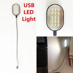 2017 Mini PC notebook White Flexible Portable USB led lamp light gadgets cool desk lamp night camping electronic Light //WAS: £6.58 NOW: £4.00 & FREE Shipping!!! //   2017 Mini PC notebook White Flexible Portable USB led lamp light gadgets cool desk lamp night camping electronic Light     Product Features:  15 LED lamp consisting of LED lights…