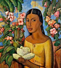 forma es vacío, vacío es forma: Alfredo Ramos Martínez - pintura. India Xochitl