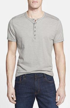 Men's Jeremiah 'Bruce' Slub Short Sleeve Henley