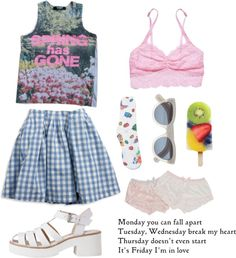 """spring time treasures"" by edenlost on Polyvore"