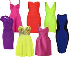 Bold Bright Dresses for NYE