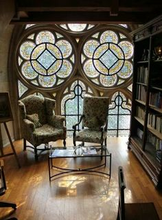Love stained glass windows!