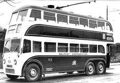 Crossley TDD6 trolley bus