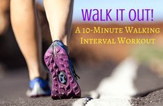 Get your heart pumping in just 10 minutes with Jessica Smith's engaging and fun walking interval workout. Power Walking, Jessica Smith, Heart Pump, Nordic Walking, Walking Exercise, Spark People, Walk This Way, Health And Fitness Tips, Easy Workouts