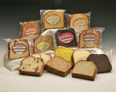 Good bake sale idea.....slices of cake &/or breads