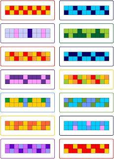 Muster fortsetzen und anmalen 2 lernst bchen blog - Muster malen ...