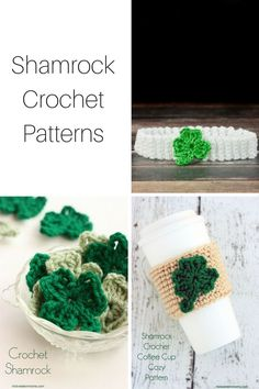 Shamrocks is a dominate icon for St. Patrick's Day. So I gathered up a number of Shamrock Crochet Patterns so you can be prepared.