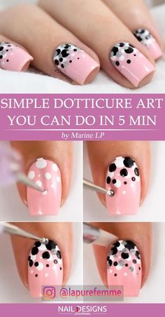 Eye Catching Beautiful Nail Art Ideas Shown beautiful is every woman's dream. An… awesome Eye Catching Beautiful Nail Art Ideas Shown beautiful is every woman's dream. And not infrequently a woman spends thousands of dollars to lo… Fancy Nail Art, Nail Art Diy, Diy Nails, Dot Nail Art, Nail Art Ideas, Manicure Ideas, Diy Manicure, Tape Nail Art, Nail Art At Home