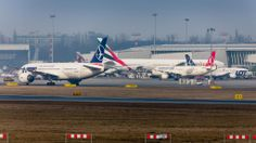 Warsaw Chopin Airport - plane spotters view. Photo: Adam Myszkowski