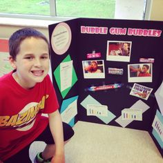 Which brand of bubble gum makes the biggest bubble? Science Fair Project.