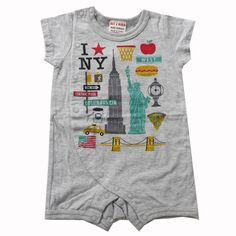 NEW YORK ONESIE - Bit'z Kids