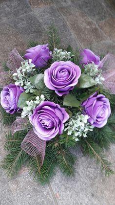 Grave Flowers, Cemetery Flowers, Funeral Flowers, Wedding Flowers, Beautiful Flower Arrangements, Beautiful Flowers, Funeral Arrangements, Interior Plants, Ikebana