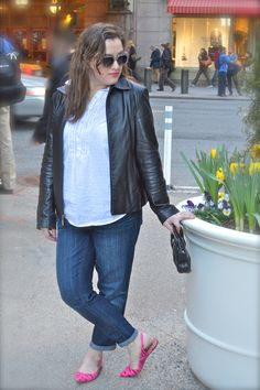 What to wear with boyfriend jeans
