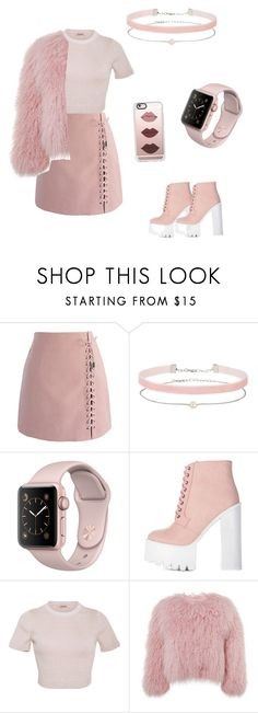 """Pretty🌸💖"" by brickle ❤ liked on Polyvore featuring Chicwish, Miss Selfridge, Cushnie Et Ochs, Charlotte Simone and Casetify"